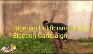 Video: Real House of Comedy – Nigerian Politicians During Election Campaign vs After Winning The Election